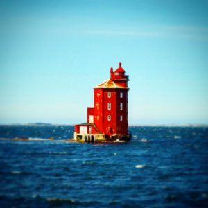 Lonely light-house